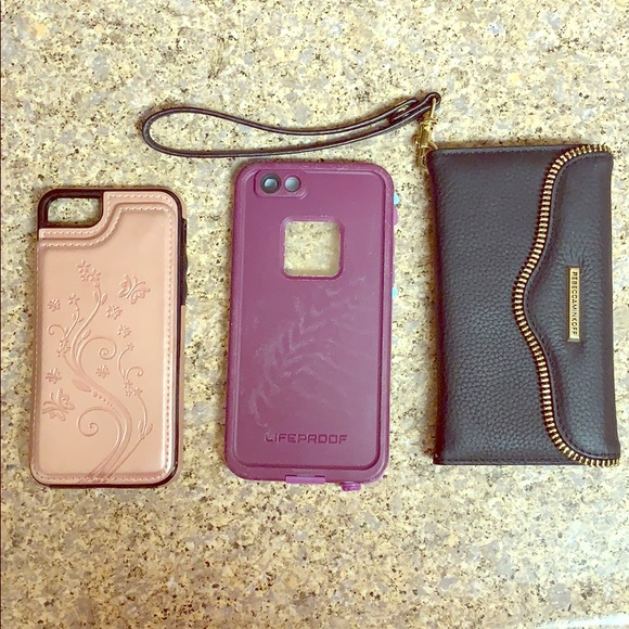 Lot of 3 iPhone 7 cases